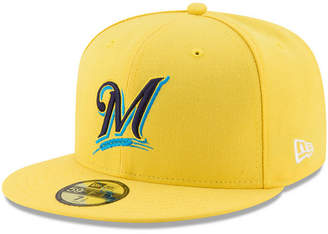 New Era Boys' Milwaukee Brewers Players Weekend 59FIFTY Fitted Cap