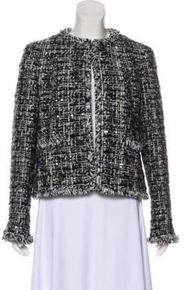 Chanel Tweed Embellished Blazer