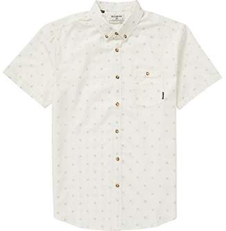 Billabong Men's All Day Jacquard Short Sleeve Shirt