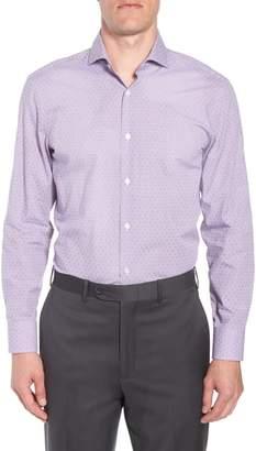 BOSS Mark Sharp Fit Check Dress Shirt