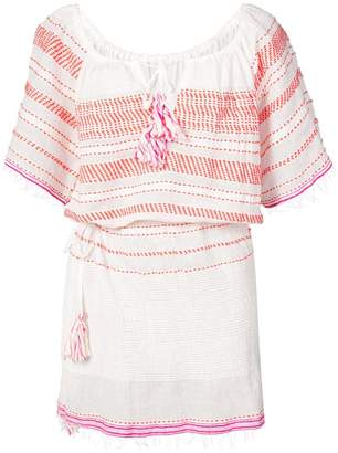 Lemlem Tiki drawstring cover up