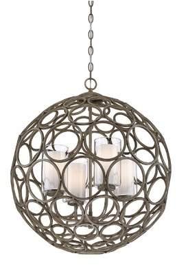 Bloomsbury Market Edgewater 4-Light Globe Pendant