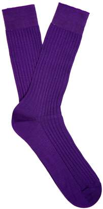 Pantherella Danvers ribbed-knit socks