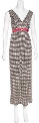 Tory Burch Printed Sleeveless Maxi Dress