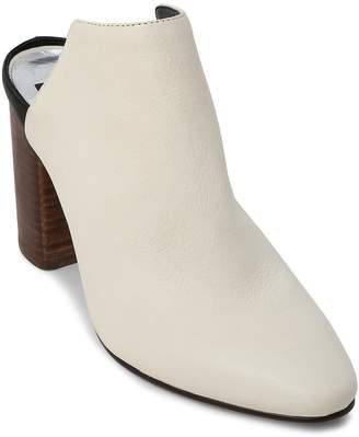 Dolce Vita Women's Renly Leather Block Heel Mules