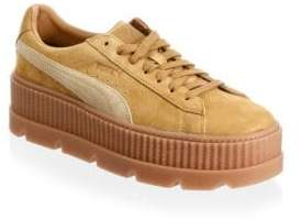Puma Men's Suede Cleated Creeper Low-Top Sneakers
