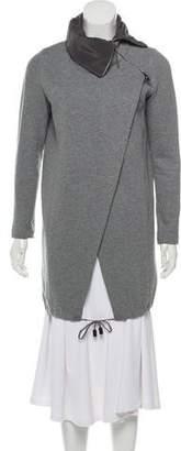 Fabiana Filippi Casual Knee-Length Jacket
