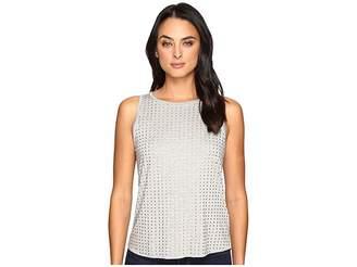 Three Dots Studded Tank Top Women's Clothing