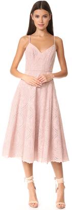 LOVESHACKFANCY Molly Dress $405 thestylecure.com