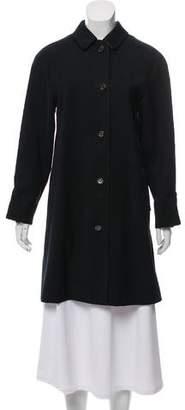 Burberry Knee-Length Woven Coat