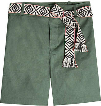Steffen Schraut Shorts with Woven Belt