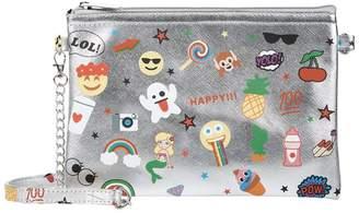 Bari Lynn Metallic Emoji Bag