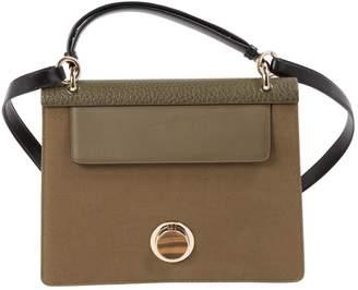 Giambattista Valli Khaki Cloth Handbag