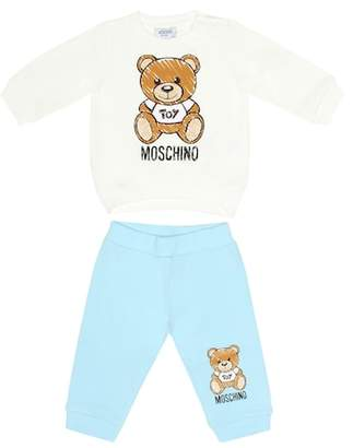 ae48a9e6eb3 Moschino Kids Baby sweatshirt and trackpants set