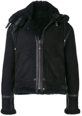 Faith Connexion zipped shearling jacket