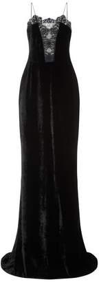 Stella McCartney Lace Trim Velvet Gown