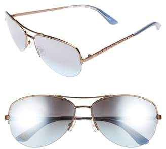 Juicy Couture Black Label 60mm Gradient Aviator Sunglasses