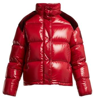 Moncler 2 1952 - Chouette Quilted Down Jacket - Womens - Red