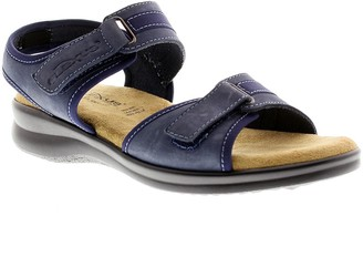 Spring Step Flexus by Danila Leather Quarter-Strap Sandals