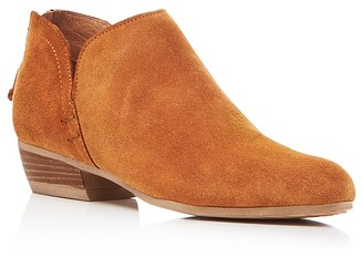 Kenneth Cole Cooper Side Notch Almond Toe Booties $140 thestylecure.com