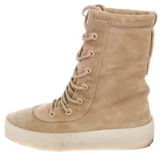 Yeezy Season 2 Suede Boots