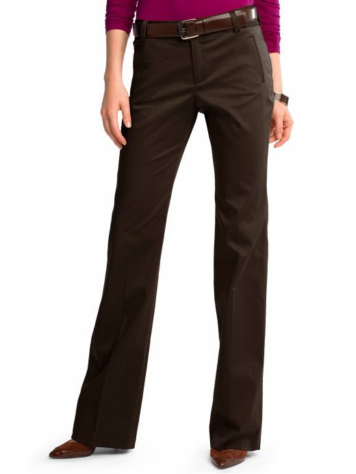 Martin stretch cotton slim trouser
