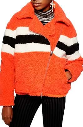 Topshop Spice Biker Jacket