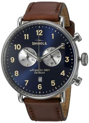 Shinola Detroit The Canfield 43mm - 20001940 Watches