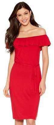 M&Co Frill layer bardot dress