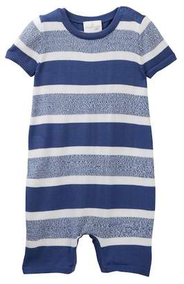 Cuddl Duds Striped Short Coverall (Baby Boys)