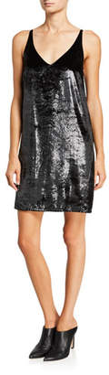 J Brand Brielle V-Neck Slip Dress