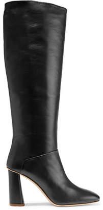 Acne Studios Leather Knee Boots - Black