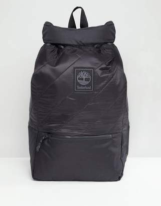 Timberland rollpack backpack in black