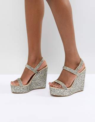 Asos DESIGN Happily Sandal Wedges