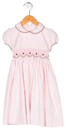 Luli & Me Girls' Cap Sleeve Dress