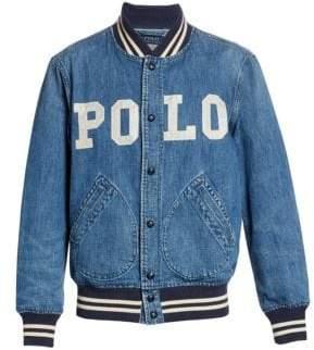 Polo Ralph Lauren Varsity-Inspired Denim Jacket