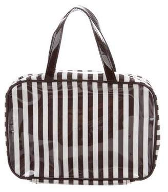 Henri Bendel Striped Cosmetic Bag