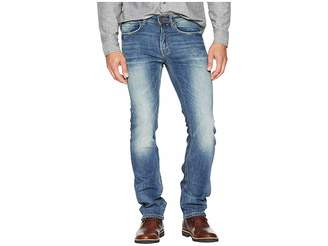 Buffalo David Bitton Six-X Slim Straight Jeans in Vintage Sanded