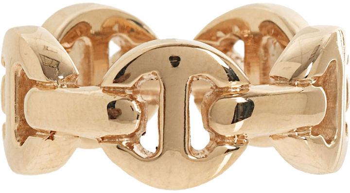 HOORSENBUHS Large Dame Tri Link Ring
