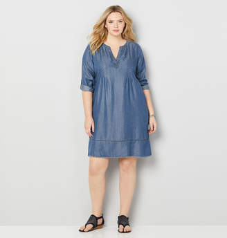 Avenue Denim A-line Dress