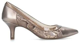 Anne Klein - Bronze 'Fabryce' Pointed Toe Court Heels