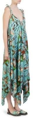 Loewe X Paula's Ibiza Mermaid Handkerchief Dress