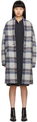 Etoile Isabel Marant Grey Check Gabriel Coat