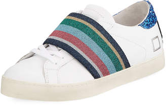 D.A.T.E Hill Low-Top Pop Sneakers