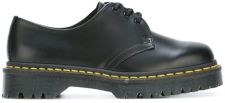 Dr. MartensDr. Martens ridged sole lace-up shoes