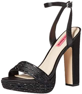 Betsey Johnson Women's ALLIIE Platform Dress Sandal