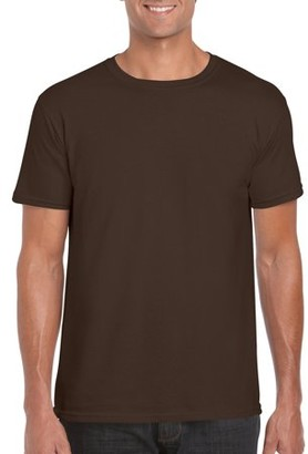 Gildan Mens Fitted Short Sleeve T-Shirt