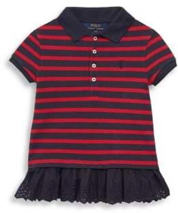 Ralph Lauren Toddler's Striped Polo Top