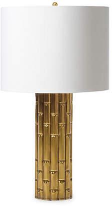 Barbara Cosgrove Bamboo Table Lamp - Antiqued Brass