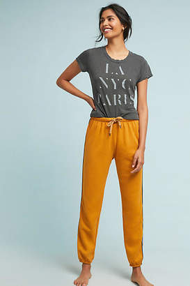 Sundry Golden Striped Sweatpants